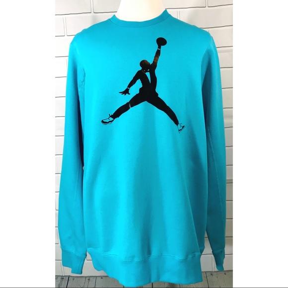 d4c99b256ca3 Nike Jordan Tuxedo Jumpman Rare VTG Sweatshirt